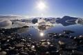 Картинка свет, природа, озеро, лёд