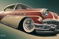 Картинка ретро, арт, Buick, бьюик