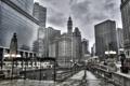 Картинка Небо, Чикаго, Небоскребы, Здания, Америка, Иллинойс, Chicago