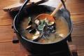 Картинка суп, котел, мидии