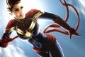 Картинка девушка, супергерой, marvel comics, Carol Danvers, Captain Marvel