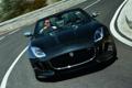 Картинка фары, Jaguar, водитель, передок, F-Type, V8 S