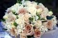 Картинка цветы, розы, букет, композиция, фрезии
