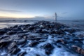 Картинка lighthouse, movement, perchrock, hightide