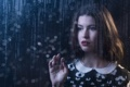 Картинка девушка, стекло, взгляд