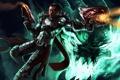 Картинка League of Legends, Lucian, the Purifier, Guardian of light