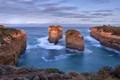 Картинка море, небо, пейзаж, скалы