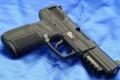 Картинка pistol, blue, 7mm, Pistol FN Herstal Pistol cal. 5