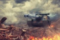 Картинка tank, AMX 50 Foch, танк, танки, World of Tanks, Франция, Wargaming.Net