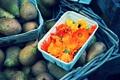 Картинка цветы, фрукты, оранжевые, груши, календула
