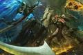 Картинка демон, Diablo 3, diablo, art, crusader, reaper of souls, Diablo 3: Reaper of Souls