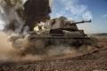 Картинка tank, пыль, танк, танки, Великобритания, World of Tanks, Wargaming.Net