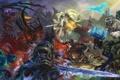 Картинка starcraft, diablo, warcraft, arthas, sarah kerrigan, Sylvanas, Thrall