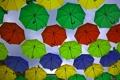 Картинка фон, зонты, декорация
