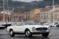 Картинка белый, ретро, Mercedes, Benz, классика, 230 SL
