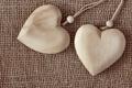 Картинка romantic, любовь, сердечки, hearts, love, wood, cloth
