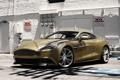 Картинка Aston Martin, Front, Building, Supercar, Vanquish