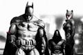 Картинка batman, catwoman, Batman Arkham City