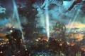 Картинка mmorpg, online, guild wars 2, art, город, gw2, арт