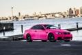 Картинка Pink, BMW, Розовая, Тюнинг, Набережная, БМВ, E92