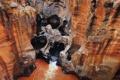 Картинка вода, ручей, камни, скалы, поток, колодец