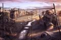 Картинка люди, дома, арт, городок, поселение, by cloudminedesign, slums