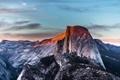 Картинка закат, горы, природа, сша, Национальный парк Йосемити, Yosemite National Park