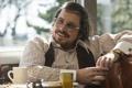 Картинка улыбка, очки, Christian Bale, American Hustle, Кристиан Бэйл, кадр, Афера по-американски
