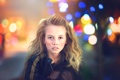 Картинка взгляд, город, куртка, девочка, Julia Altork