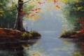 Картинка рисунок, арт, Artsaus, Fall Lake Colors
