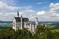 Картинка заман, Бавария, Нойшванштайн, Германия, лето