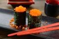 Картинка палочки, икра, rolls, eggs, роллы, японская кухня, sticks