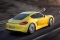 Картинка купе, Porsche, Порше, вид сзади, Cayman S, Кайман С