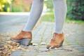 Картинка ноги, обувь, ботинки, колготки