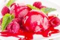 Картинка ягоды, малина, мороженое, десерт, сладкое, sweet, yammy