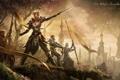 Картинка Online, Queen, The Elder Scrolls, ельфы, Ayrenn