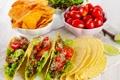 Картинка зелень, помидоры, начинка, tomatoes, snack, закуска, лаваш