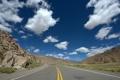 Картинка небо, облака, горы, камни, Дорога, Аргентина