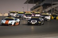 Картинка Porsche 911, BMW Z4, Race start, Mercedes SLS 500, Dubai 24 Hours, Lamborgini Gallardo