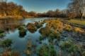 Картинка природа, пейзаж, река, осень, фото