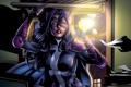 Картинка костюм, huntress, супергерой, Helena Wayne, арт, девушка, dc comics