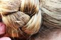Картинка Волосы, коса, золотой
