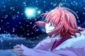 Картинка звезды, ночь, сакура, хроника крыльев, tsubasa