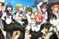 Картинка девушки, арт, форма, парни, школьники, g yuusuke, sera mizuki
