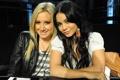 Картинка брюнетка, блондинка, Ashley Tisdale, Vanessa Hudgens, Эшли Тисдейл, Ванесса Хадженс