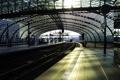 Картинка метро, города, рельсы, станция, поезда