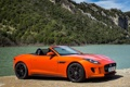 Картинка car, Jaguar, wallpapers, orange, F-Type, V8 S