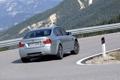 Картинка Авто, Дорога, поворот, BMW, Машина, Бумер, Серый