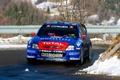 Картинка Зима, Авто, Синий, Спорт, Citroen, Фары, WRC