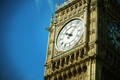 Картинка часы, big ben, небо, лондон